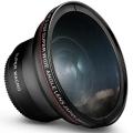52MM 0.43x Altura Photo Professional HD Wide Angle Lens (w/ Macro Portion) for NIKON D7100 DSLR Camera